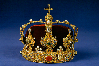 Queen Kristina Royal Palace Royal Palace of Stockholm the Treasury the Regalia Erik XIV's Crown