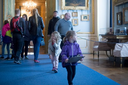 Autumn holidays children's activity Royal Palace